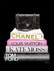 Glasschilderij Fashion  Chanel tas van Ter Halle